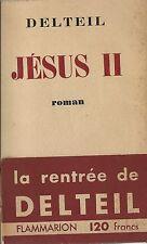 EO N° SUR ALFA JOSEPH DELTEIL + BANDEAU : JÉSUS II