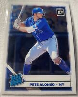 PETE ALONSO- 2019 Optic Donruss Rated Rookie- #82- New York Mets