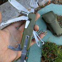 1 stück Abnehmbare Camping Outdoor Geschirr Löffel Gabel Messer Flaschenöffner