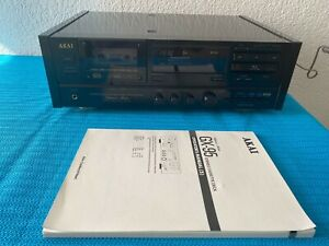 AKAI Stereo Cassette Deck GX-95 with Manual