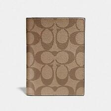 Brand New COACH Passport Case  In Signature Canvas F93518 MSRP $125