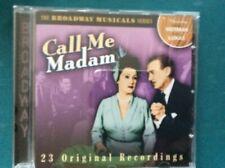 Broadway Musicals Series: Call Me Madam CD