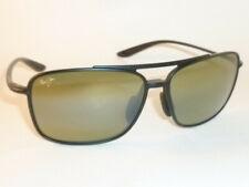 cfa4bcbb5b199 Authentic Polarized MAUI JIM KAUPO GAP Sunglasses Matte Black HT437-2M HT  Lenses