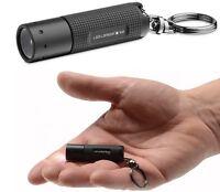 LED Lenser K2 Black Mini Key-Light Key Ring Torches - High Quality