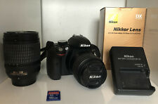 Nikon D3300 Digital Camera Kit 2 Lens