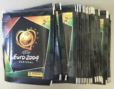EURO 2004 panini  50 packs 250 stickets very good condition