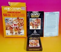 Video Olympics for Atari 2600 - Cartridge, Box + Manual Tested, Working Complete