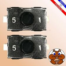 2x Mikrotaster Microtaster f. OPEL Corsa Combo Meriva Omega Mikroschalter Taster