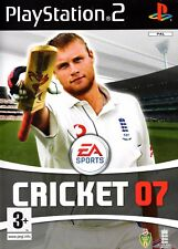 EA Sports Cricket 07 PS2 (PlayStation 2) -Free Postage - UK Seller