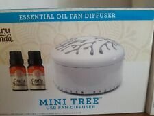 Guru Nanda Essential Oil Fan Diffuser Mini Tree White New