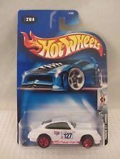 Hot Wheels  2003-204  Porsche 911 Carrera  White  NOC 1:64 scale (517) 57187