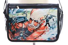 B-145 Attack on Titan Kyojin Eren Lack PVC Umhänge-Tasche Bag Anime Manga Japan