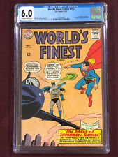 WORLD'S FINEST 153  CGC 6.0 Curt Swan SUPERMAN BATMAN Slaps ROBIN 1965