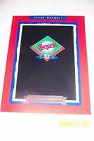 1993 TEXAS RANGERS Yearbook NOLAN RYAN Arlington Stadium TRIBUTE Canseco PUDGE