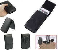 per SAMSUNG GALAXY S4 I9505 Custodia Clip Cintura Passante Eco Pelle Verticale