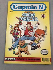 Nintendo Captain N The Game Master Vol 1 No 1 Valiant Comic Books 1990 Vintage