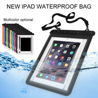 New Underwater Waterproof Tablet Computer Cover Dry Storage Bag Case for iPad
