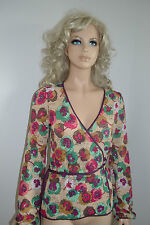 Wolford Missoni Wickelbluse Bluse Jacket S Small Multi-Color