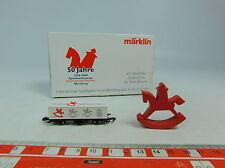 AU582-0,5# Märklin mini-club Z/DC Vagone per container Spielwarenmesse 1999, W+