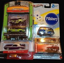 Diecast Car 1/64 Scale  Lot Mix Hot Wheels / Maisto / Greenlight / Auto World