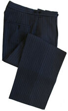 "Poly-Wool Morning Stripe Trousers Waist 40"" Leg 32"""