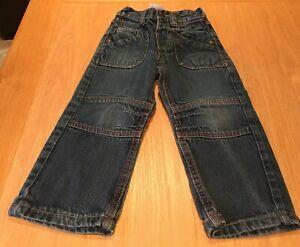 Boys Denim Straight Leg Jeans Size 3-4 Years