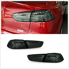 Retrofit Full LED Tail Lights For Mitsubishi Lancer EVO 08-17 Smoked Color