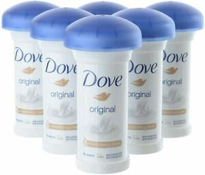 Dove Original Mushroom Antiperspirant Deodorant Moisturising Cream 50 ml - 3or6