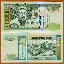 Mongolia, 500 Tugrik, 2013, P-66 (66c), UNC > Genghis Khan
