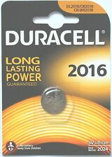 Duracell Lithium-Based CR2016 Single Use Batteries
