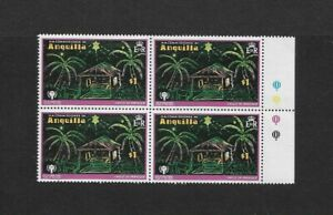1979 Anguilla - International Year of the Child - Block of Four - MNH.
