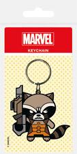 Marvel Kawaii (Rocket Racoon) Rubber Keychain