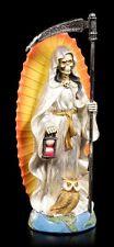 Reaper Figur - Santa Muerte weiß - Statue mexikanisch Schutz Glück Liebe