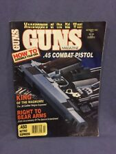 Guns Magazine October 1991 How to assemble your own .45 combat pistol