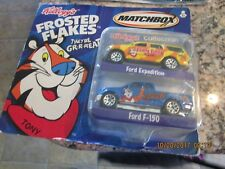 Matchbox Frosted Flakes 2 Pack Tony The Tiger Kellogg's Collection Ford