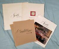CADILLAC Lot of 5 Vtg Original Seville Eldorado Promotional Brochures 1973 76