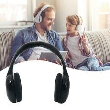 5 in 1 Wireless Music Headphones with FM Transmitter for MP3 PC TV Black