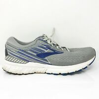 Brooks Mens Adrenaline GTS 19 1102941D058 Gray Running Shoes Lace Up Size 12.5 D