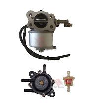 Ezgo 4 Cycle 295 Cc 91-2014 Txt Gas Golf Cart Carburetor With Fuel Pump & Filter