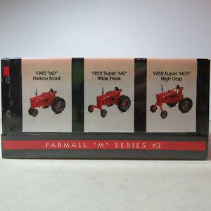 "Ertl IH ""M"" 3 Tractor No. 3 Set  MD-NF, MD-WF, MDV-High Crop 1/64 IH-4571-1HEA-B"