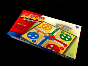 Ludo Foldable Magnetic Board Travel Game 29.8cm x  29.8cm