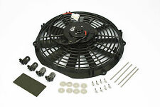 """Stoney Racing Electric 12"""" 120W Pull Type Radiator Cooling Fan Universal 12v"""