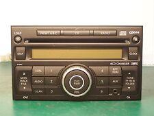 07-11 NISSAN VERSA FRONTIER XTERRA RADIO 6 CD MP3 CHANGER PN-2813L CY09C