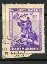 ERINNOPHILIE / STAMP TIMBRE VIGNETTE THEIR SIGHT FOR US /