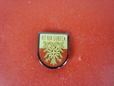 pins pin  blason allemand lubeck 104 rt