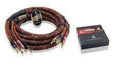 Choseal QiuYeYuan LB-5111 Speaker Cable Pair Brand New