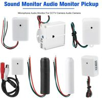 Microphone Audio Pickup Sound Monitoring Device for Security CCTV Camera System