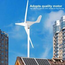 Éolienne 500W DC12V 3 pales Kit de générateur de vent Équipement de électricité