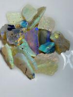 Australian Rough Opal L/Ridge Handpicked Cutters Bright Clean 50ct WA1313 Video