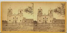C1860s Stereoview San Antonio Texas TX Mission Concepcion